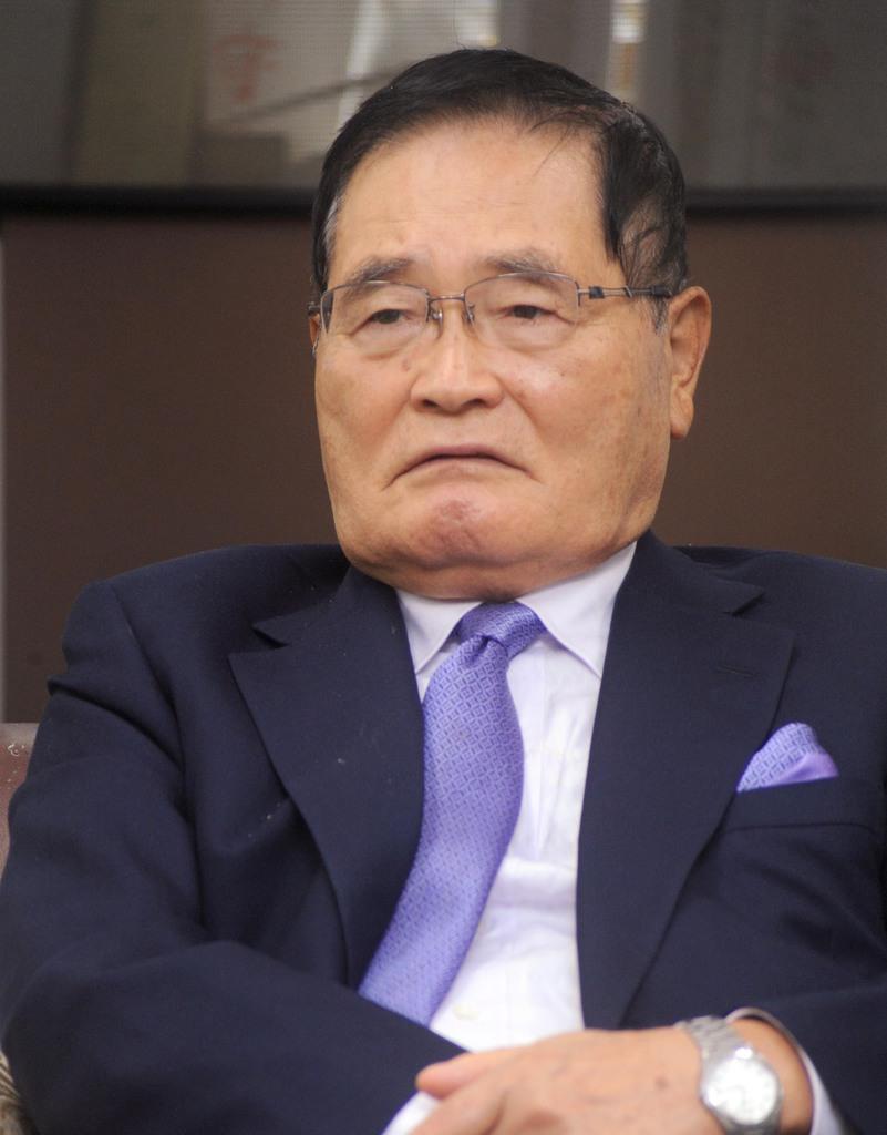 亀井静香元金融担当相(宮川浩和撮影)