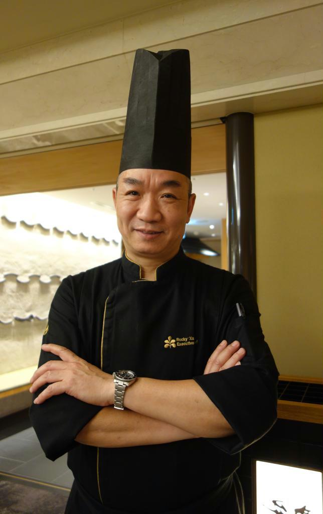 ホテル日航広州の総料理長、徐嘉楽氏