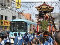 あの光景見られない 京阪が大津祭曳山巡行で一部運休 安全面を考慮
