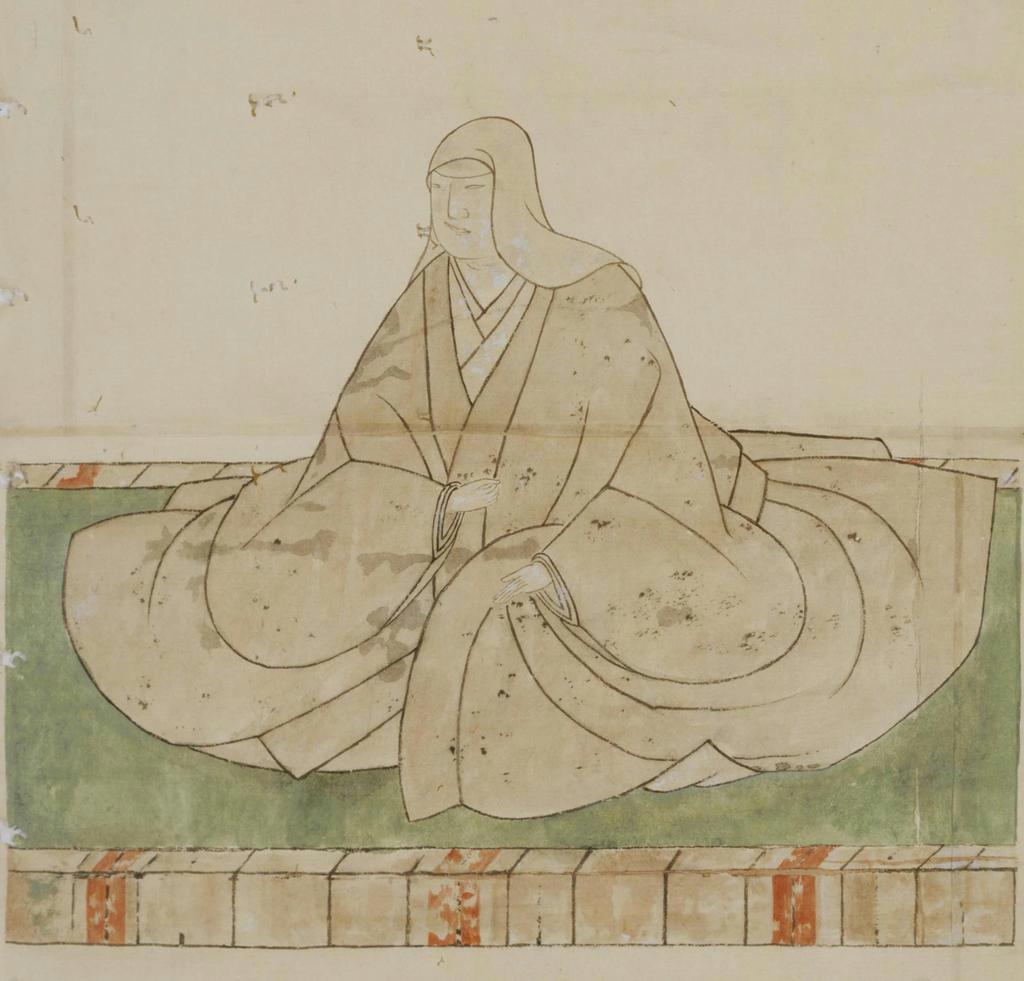 浅野長政室(長生院)画像(模本、東大史料編纂所蔵)