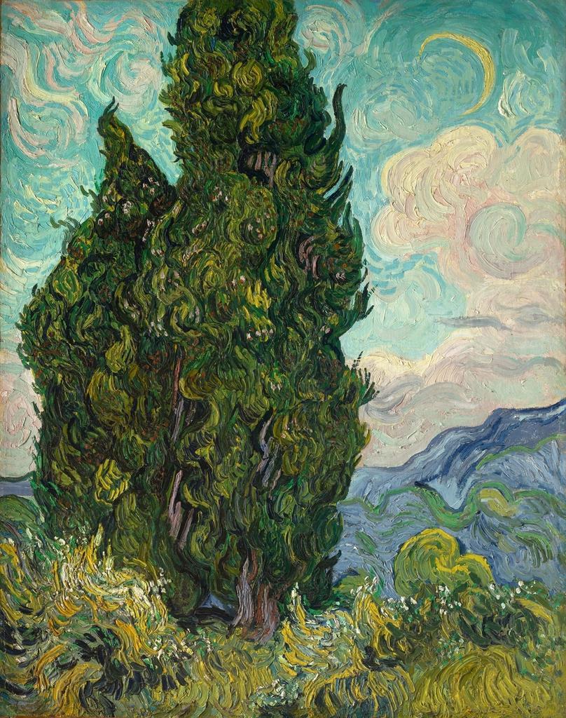 「糸杉 ゴッホ」の画像検索結果