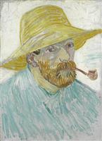 『パイプと麦藁帽子の自画像』『農婦の頭部』ゴッホ展を彩る作品たち