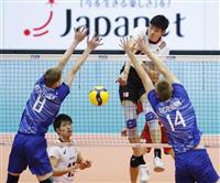 日本、ロシア破り5勝目 バレー男子W杯