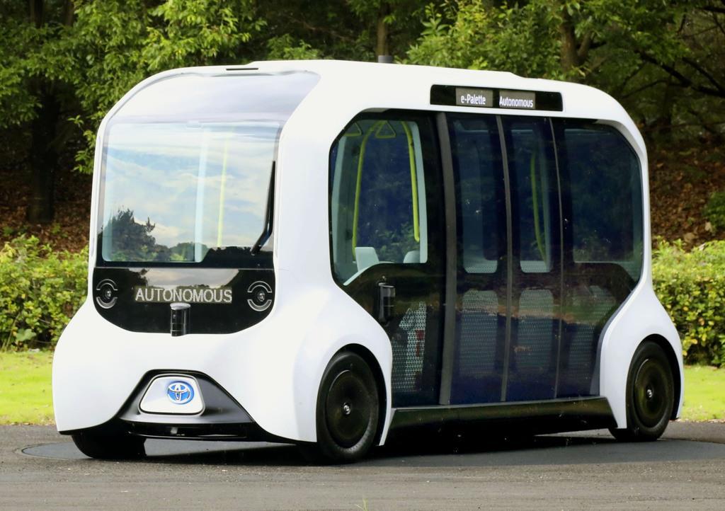 2020年東京五輪・パラリンピックに提供するトヨタ自動車の自動運転EV「e-Palette」