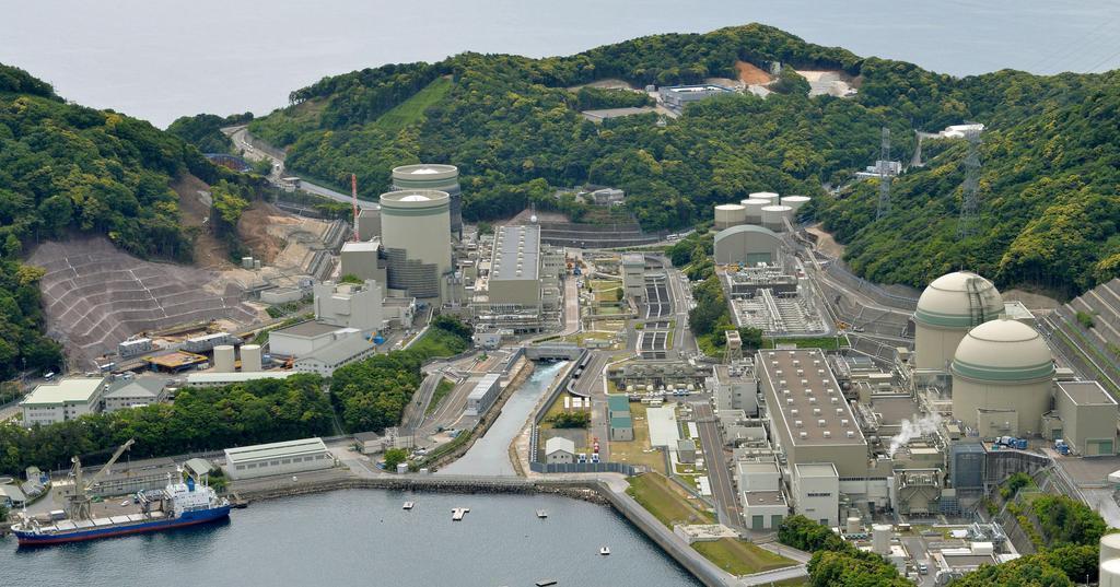 関西電力高浜原発=福井県高浜町