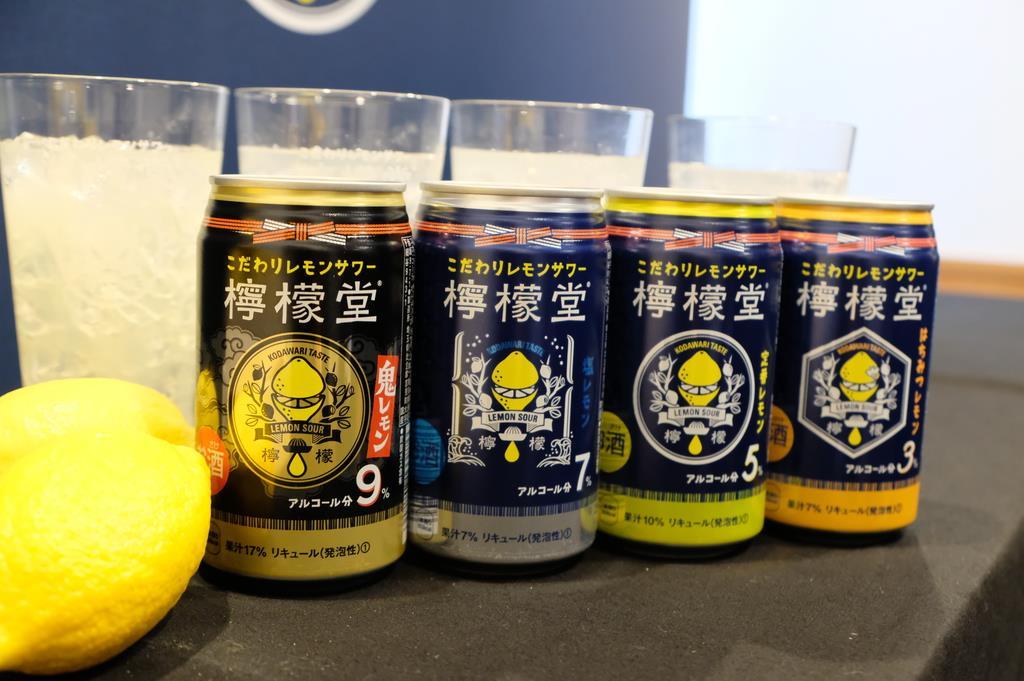 日本コカ、アルコールRTD市場に本格参入 「檸檬堂」28日か…