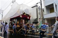 【台風19号】雨の中「佐原の大祭」 千葉・香取、12日は中止