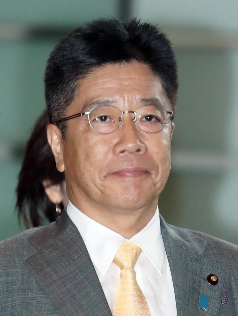 加藤勝信厚労相(春名中撮影)