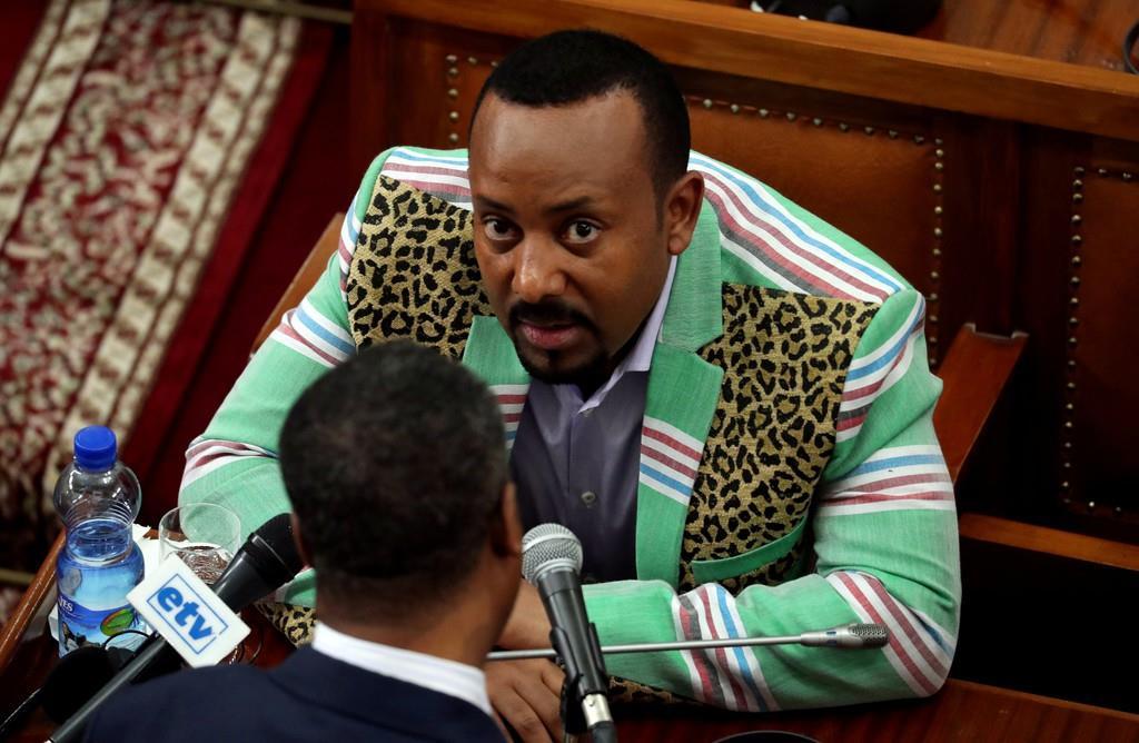 エチオピアのアビー・アハメド首相(ロイター)