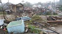 台風19号、列島に接近 千葉で一時48万戸が停電、竜巻で家屋被害も