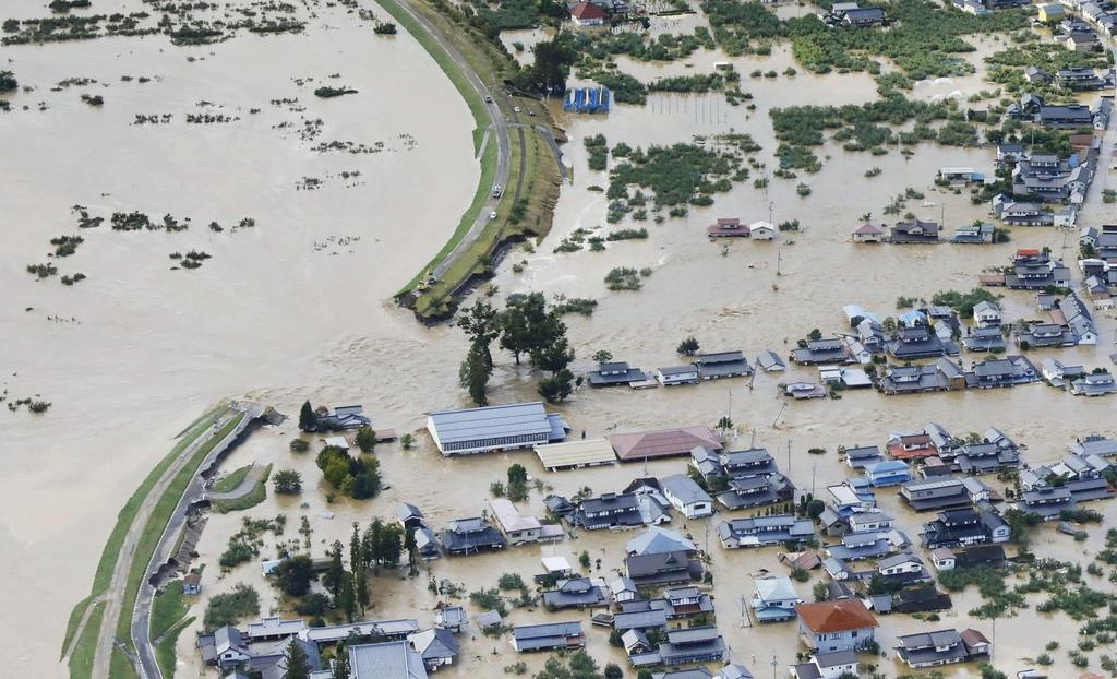 千曲 氾濫 長野 川