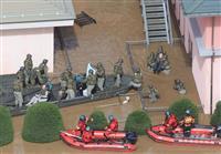 【台風19号上空リポート】特養ホームで自衛隊が入所者を救出 千曲川氾濫