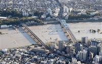 【台風19号】「まさか冠水するとは」 多摩川両岸で浸水被害