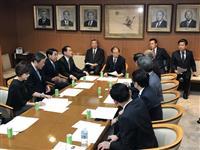 【台風19号】二階幹事長「対策を早急に」、自民が緊急役員会