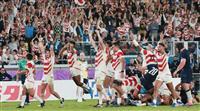 【ラグビーW杯 日本-スコットランド戦再現】日本、終盤の猛攻しのぎ初の8強進出 全勝で…