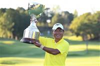 白潟が逃げ切り優勝 男子ゴルフの日本プロシニア選手権