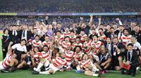 【ラグビーW杯】日本、9度目の挑戦で初の8強入り 新たな歴史を刻む