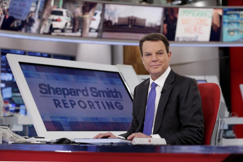 「FOXニュース」の司会者、シェパード・スミス氏(AP)