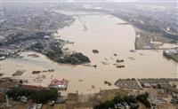 【台風19号】13都県で断水、13万戸超 厚労省支援チーム立ち上げ
