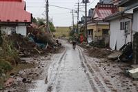 【台風19号】リンゴ農家で500キロ流失「どこから手をつければ…」 宮城県大郷町