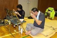 【台風19号】毛布にくるまり避難所暮らし 豚汁の炊き出しに「涙が出る」 埼玉・坂戸