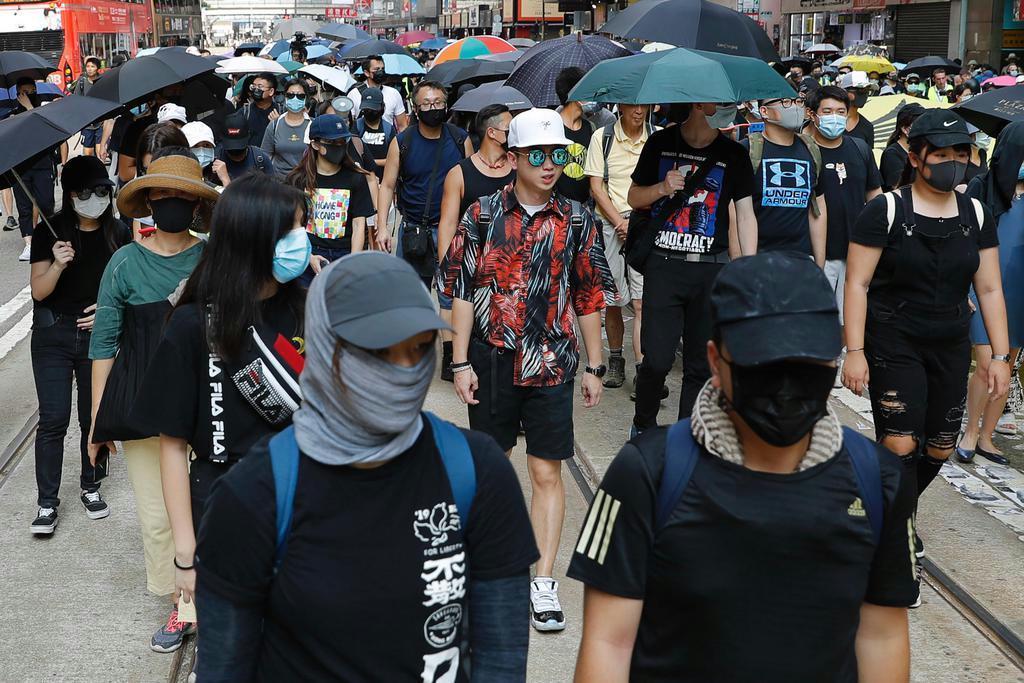 【環球異見】香港の覆面禁止法 英紙「独裁的支配の始まり示した…