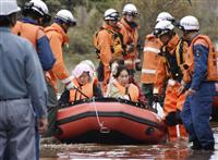 【台風19号】ケアハウス孤立、80人救助 埼玉・川越、けが人なし