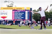 グリフィンがツアー初V 米男子ゴルフ最終日