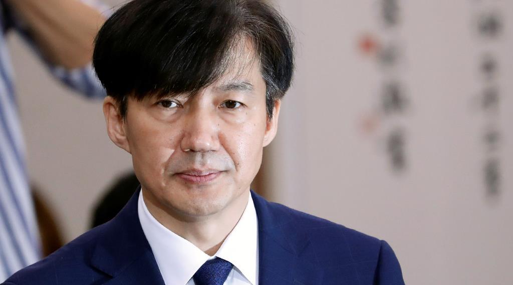 韓国のチョ・グク法相(ロイター)
