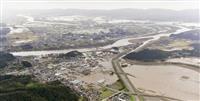 【台風19号】ようやく水引くも一面泥に 大雨後3日の宮城・丸森町