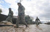 【台風19号】予備自衛官200人招集し生活支援 河野防衛相