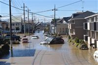 台風19号 補正予算編成へ 自公幹事長が確認