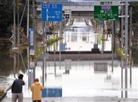 【台風19号】那珂川氾濫の水戸市 水没の店舗、再開めど立たず