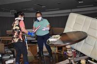 【台風19号】廊下には手押し車や棚が散乱…孤立化した埼玉・川越の特養ホーム