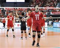 日本が大会史上初の8勝 バレー男子W杯