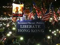 香港で13万人が集会 米国に「香港人権法案」早期成立求める