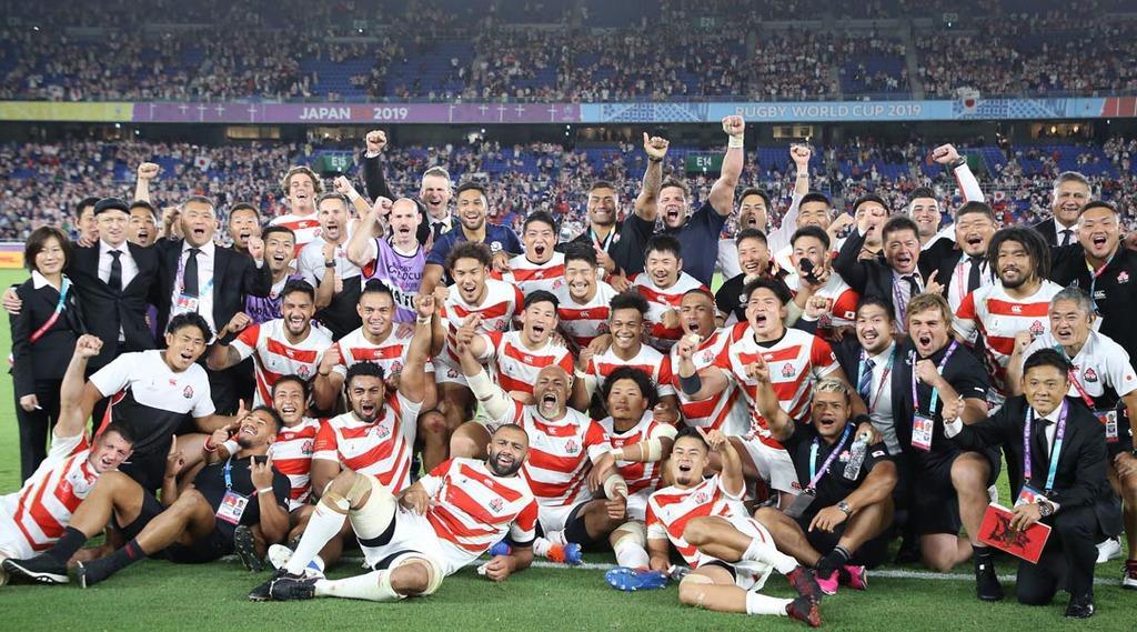 英メディア絶賛 台風被害乗り越えたラグビー日本代表の勝利