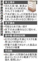 【台風19号】家の片付け、感染症対策を