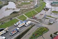 【台風19号】ポンプ車200台出動 浸水被災地で24時間態勢