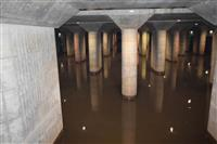 【台風19号】「地下神殿」首都圏外郭放水路、氾濫防ぐ