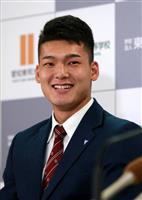 【ドラフト会議】中日1位指名の石川「地元球団でうれしい」