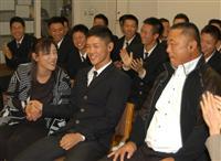 【ドラフト会議】ヤクルト6巡目指名、八戸学院光星の武岡「強打で信頼される選手に」
