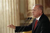 シリア政権側、IS「首都」に進軍 トルコ・米は会談へ