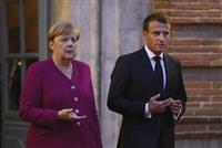 英EU離脱、仏独首脳が合意実現に期待感 根拠には触れず