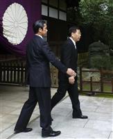 中国、日本に抗議「侵略戦争の象徴」 靖国参拝