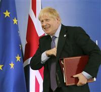 英EU離脱 ジョンソン氏、最終案をさらに修正