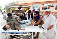アフガンのモスクで爆発、62人死亡