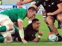 【ラグビーW杯】NZ、アイルランドを圧倒 4強決めた