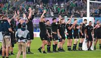 【ラグビーW杯】NZ、未到の3連覇へ前進 攻守で寄せ付けず