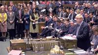 EU離脱合意案採決へ 英下院審議始まる